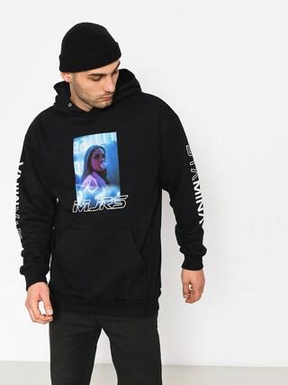 Mikina s kapucňou Majors Mjrs Blue HD (black)
