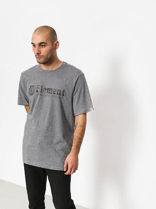 Tričko Element Bark Horizontal (grey heather)