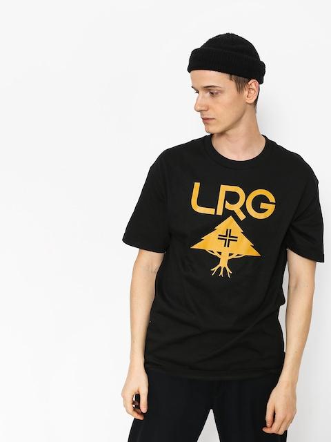 Tričko LRG Classic Stack (black)