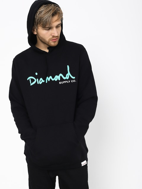 Mikina s kapucňou Diamond Supply Co. Og Script HD