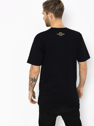 Tričko MassDnm Golden Car (black)