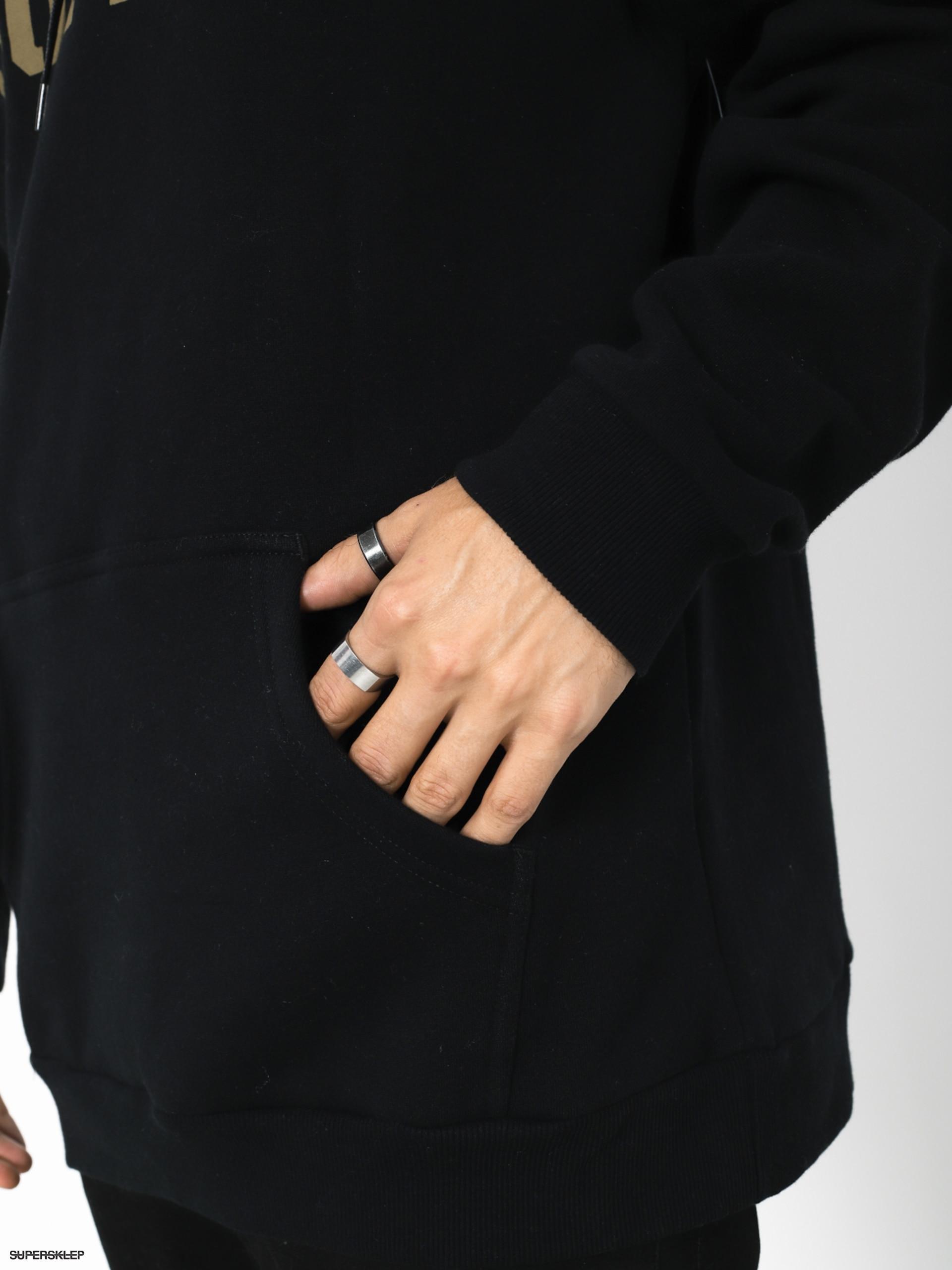 Mikina s kapucňou Supra Above HD (black dark olive) 4c5c5fabcae