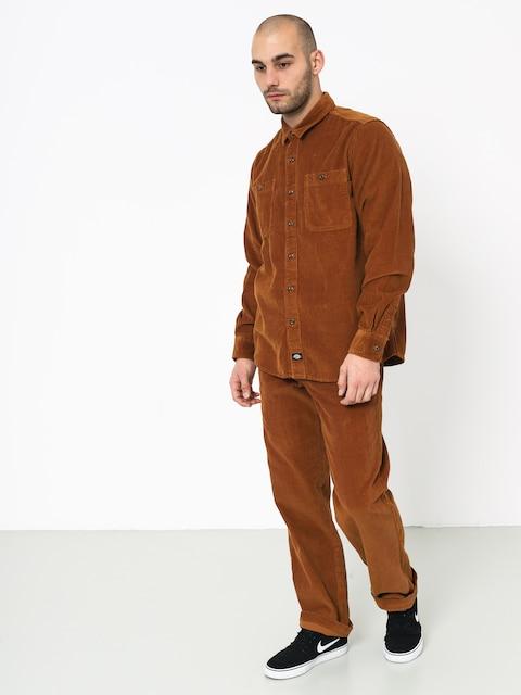 Košeľa Dickies Arthurdale (brown duck)