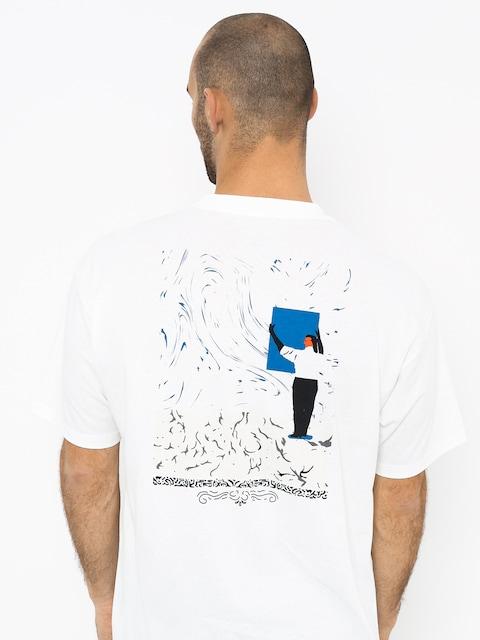 Tričko Polar Skate Hanging A Painting (white)