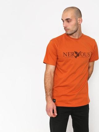 Tričko Nervous Classic (brick)