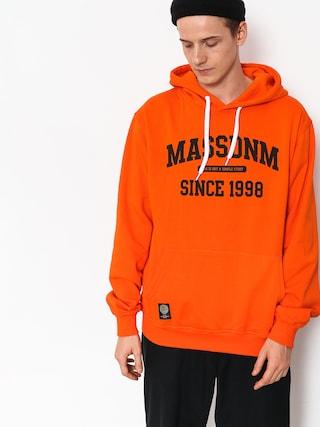 Mikina s kapucu0148ou MassDnm Campus HD (orange)