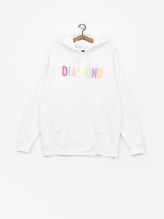 Mikina s kapucňou Diamond Supply Co. Colour Pop HD (white)