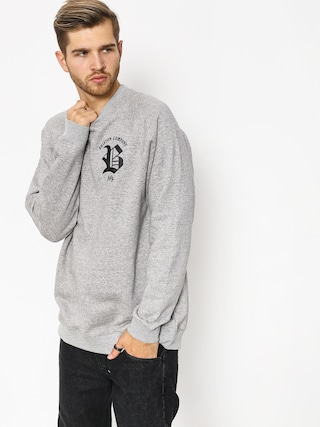 Mikina Brixton Rawson Crew (heather grey)