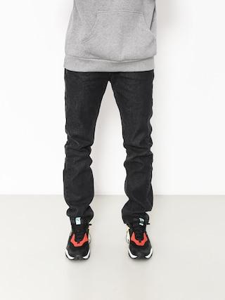 Nohavice MassDnm Classics Jeans Straight Fit (black rinse)