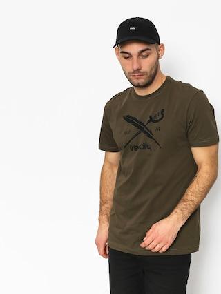 Tričko Iriedaily Daily Flag (olive)
