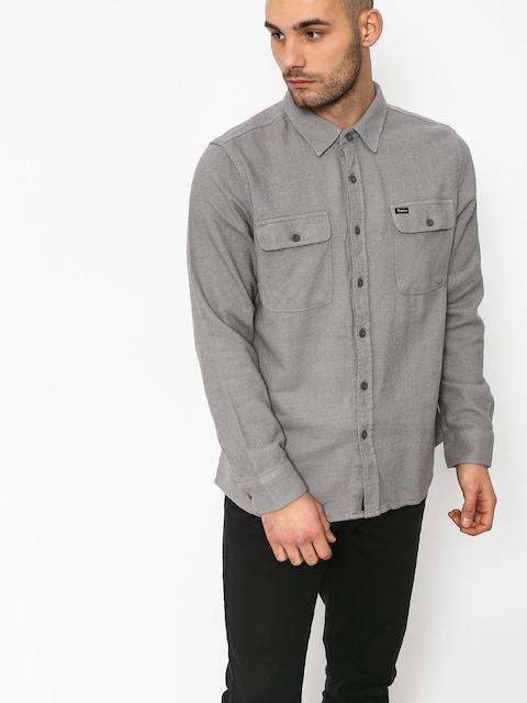 Košeľa Brixton Bowery Solid Ls (grey)