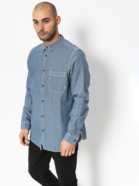 Košeľa Element Preston Ls (blue chambray)