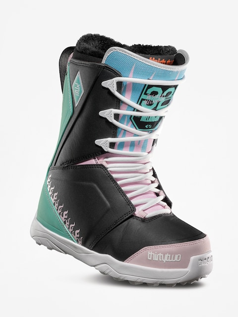 Obuv na snowboard ThirtyTwo Lashed Melancon Wmn (black/pink/green)
