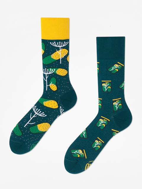 Ponožky Many Mornings Pickles (green)