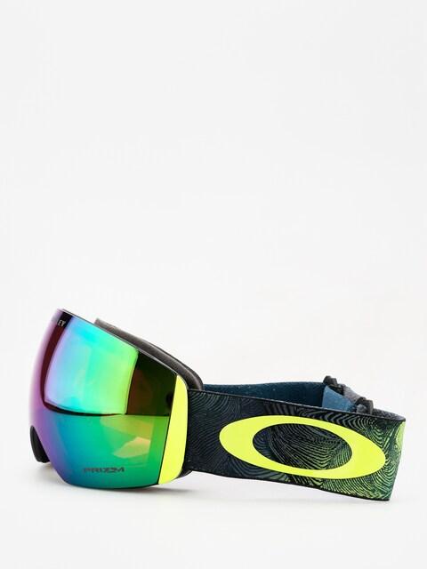 Okuliare na snowboard Oakley Flight Deck (mystic flow retina/prizm snow jade iridium)