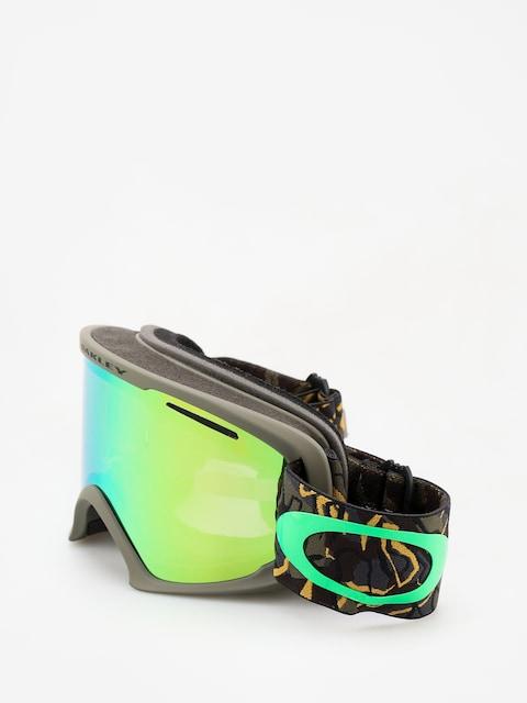 Okuliare na snowboard Oakley O Frame 2 0 Xl (camo vine jungle/jade iridium)