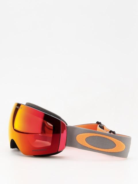 Okuliare na snowboard Oakley Flight Deck Xm (dark brush orange/prizm snow torch iridium)