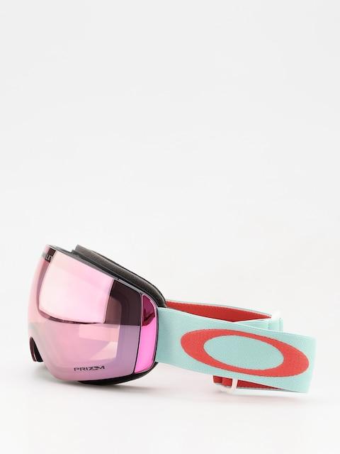 Okuliare na snowboard Oakley Flight Deck Xm (white/prizm snow hi pink iridium)