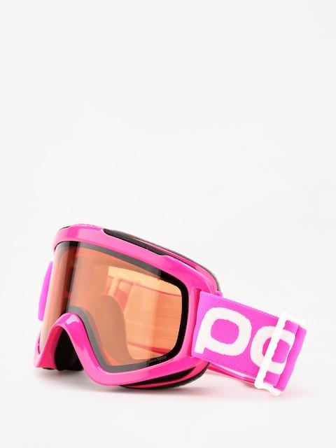 Detské okuliare na snowboard POC Pocito Iris (fluorescent pink)