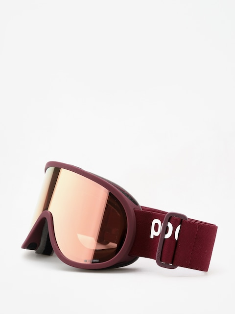 Okuliare na snowboard POC Retina Clarity (lactose red/spektris rose gold)