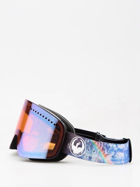 Okuliare na snowboard Dragon NFX (galaxy/lumalens blue ion/lumalens amber)