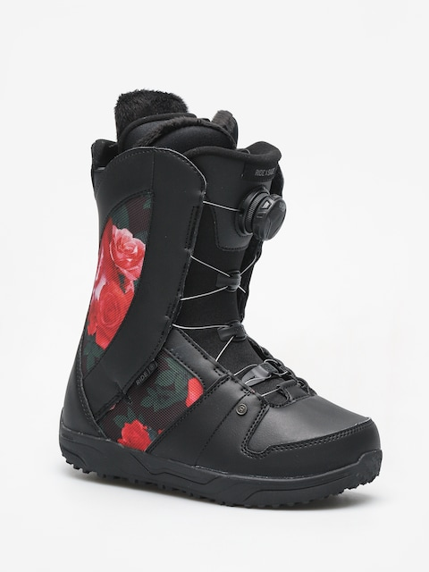 Snowboardová obuv Ride Sage Wmn (black rose)