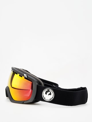 Okuliare na snowboard Dragon Rogue (black/lumalens red ion/l rose)