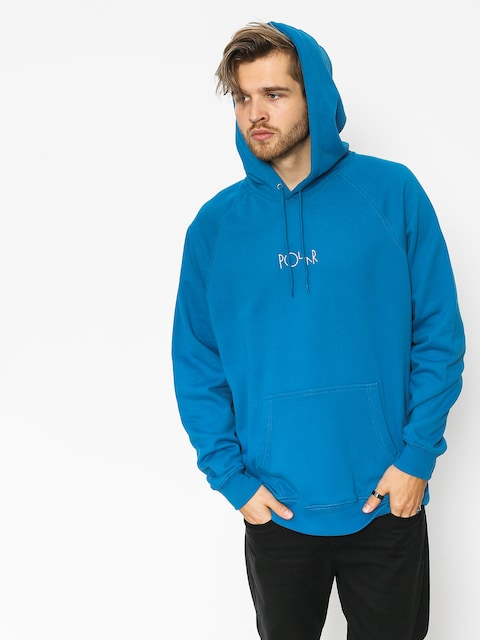 Mikina s kapucňou Polar Skate Default HD (myknos blue)
