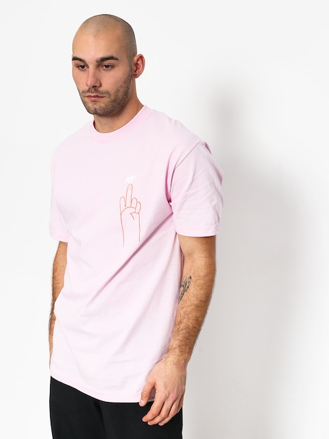 Tričko Diamond Supply Co. No 1 Skatecore (pink)