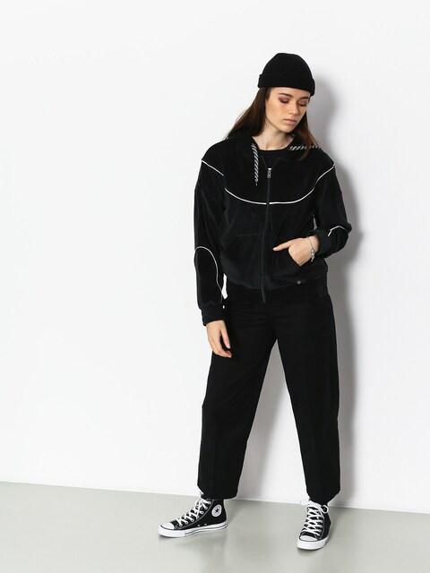 Mikina s kapucňou Roxy Smouldering Flame ZHD Wmn (true black)