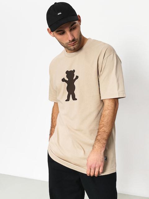 Tričko Grizzly Griptape Og Bear Basic Tee