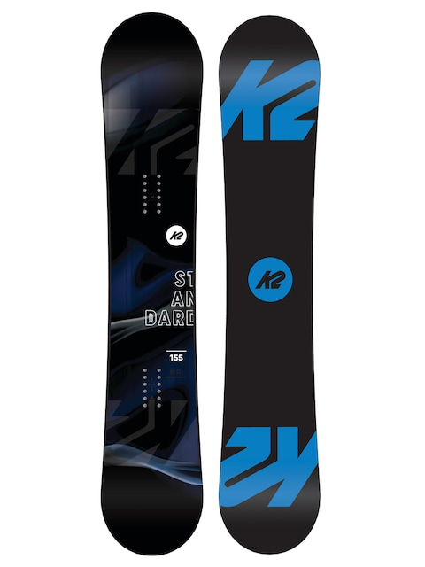 Snowboard K2 Standard Wide (black/blue)