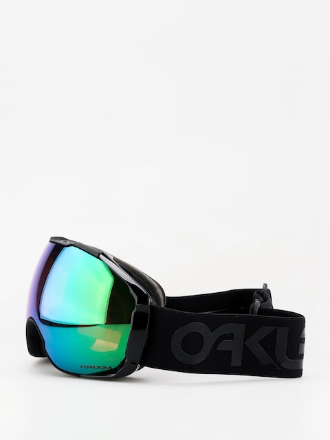 Okuliare na snowboard Oakley Airbrake XL (factory pilot blackout/prizm jade iridium & prizm rose)