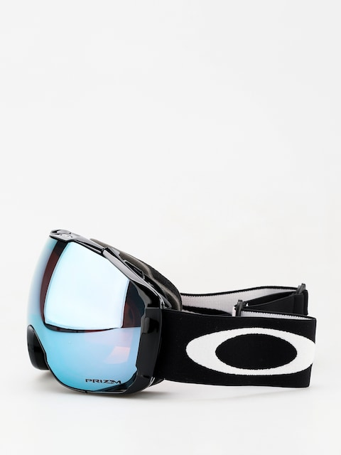 Okuliare na snowboard Oakley Airbrake XL (jet black/prizm sapphire iridium & prizm hi pink iridium)