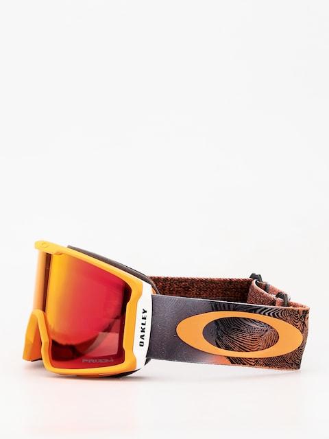 Okuliare na snowboard Oakley Line Miner (mystic flow neon orange/prizm snow torch iridium)