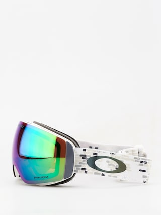 Okuliare na snowboard Oakley Flight Deck Xm (lv sig snowed in stealth/prizm snow jade iridium)
