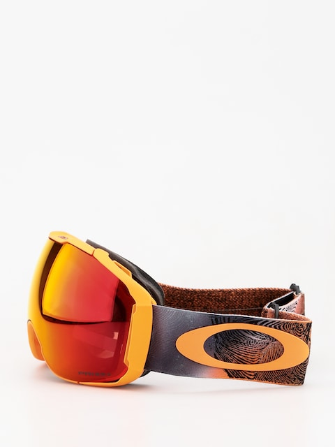 Okuliare na snowboard Oakley Airbrake XL (mystic flow neon orange/prizm snow torch iridium)