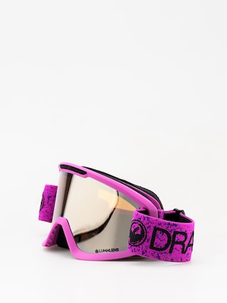 Okuliare na snowboard Dragon DX2 (violet/lumalens silver ion/dark smoke)