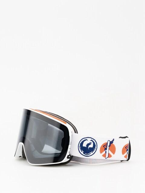 Okuliare na snowboard Dragon NFX2 (danny davis sig/dark smoke/lumalens rose)