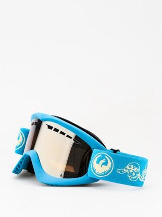Okuliare na snowboard Dragon DX (skully/lumalens silver ion)