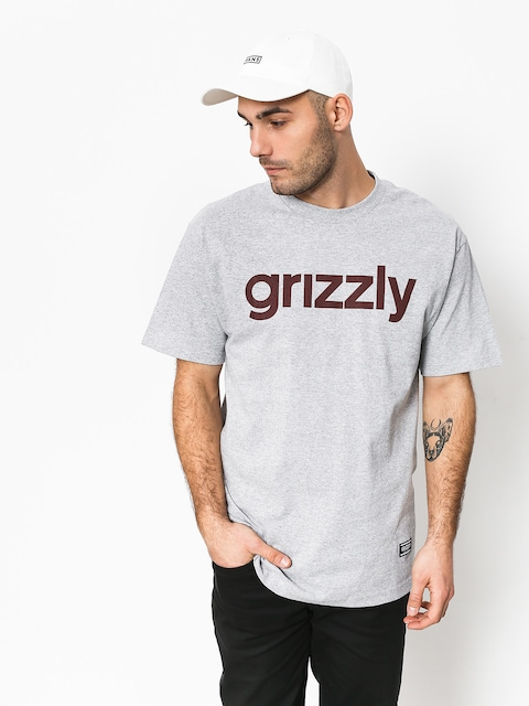 Tričko Grizzly Griptape Lowercase Tee (grey)