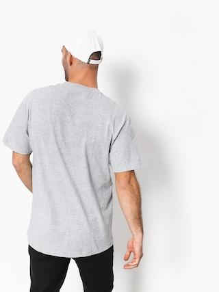 Tričko Grizzly Griptape Lowercase Tee (grey)
