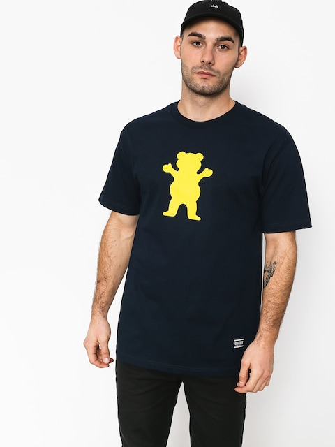 Tričko Grizzly Griptape Og Bear Basic Tee (navy)