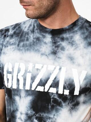 Tričko Grizzly Griptape Storm Front Tie-Dye (tie dye)