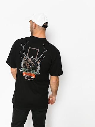 Tričko Grizzly Griptape Fear The Deer (black)