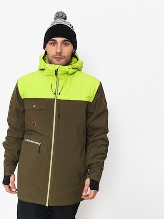 Snowboardovu00e1 bunda Quiksilver Arrow Wood (grape leaf)