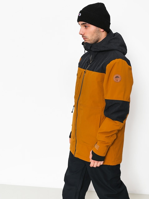 Snowboardová bunda Quiksilver Arrow Wood (golden brown)