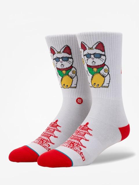 Ponožky Stance Thank You Enjoy (white)
