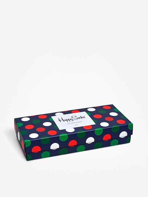 Ponožky Happy Socks Giftbox  4Pak (blue/green/red)