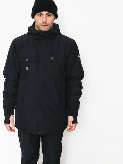 Snowboardová bunda Quiksilver Mission Soli (black)